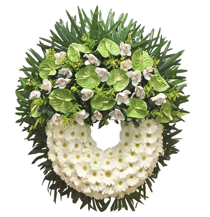 coroa funeral ponta delgada